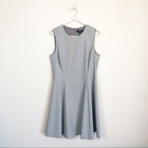 Theory Fit and Flare Sleeveless Dress Sz 8